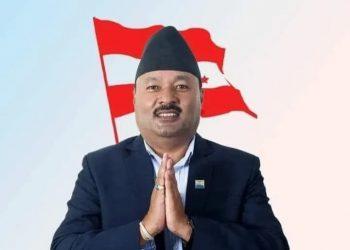 नेपाली कांग्रेसको पोखरा महानगर सभापतिमा सुरेन्द्रमान विजुक्छे विजयी